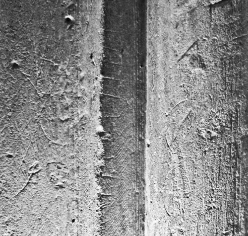 2. Circles and ladder detail. Pier, north aisle.