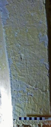 8. Three crosses. Ringing chamber doorway.