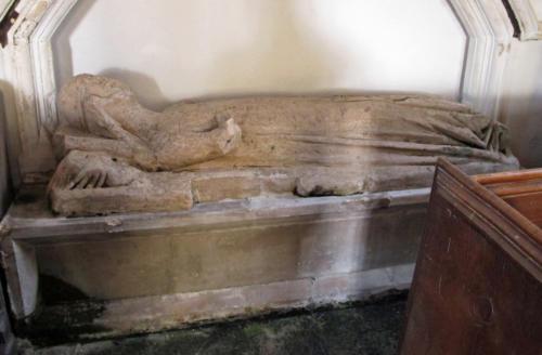 1. Lady Dinham effigy.