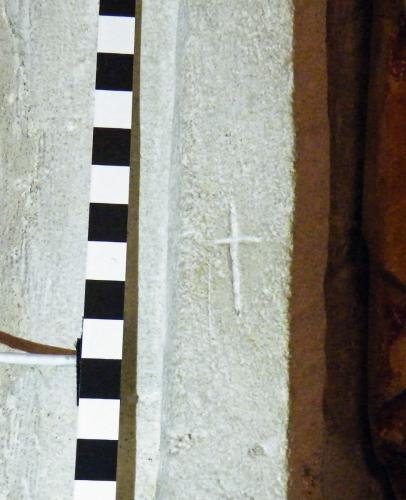 3. Cross. Christ image niche.