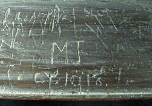 3. Initials, including CY 1910. Organ Gallery.