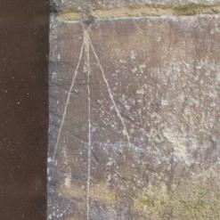 8.  Arrow on tower doorway.