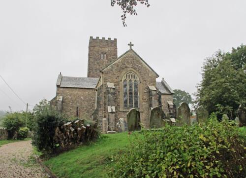 1. St Nectan's church.