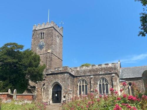 1. All Saints church, East Budleigh.